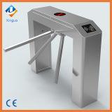 304 acero inoxidable eléctrico trípode lector de tarjetas RFID de control de acceso Torniquete Puerta