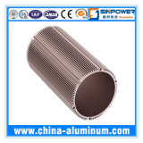 Perfil de alumínio da qualidade 6063-T5/de alumínio expulso industrial