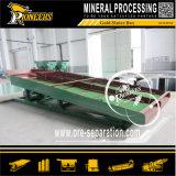 Schwarze Sand-Goldförderung-Maschinen-Wiederanlauf-Schleuse-Goldkasten-Pflanze
