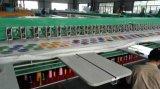 Máquina verde do bordado do Chenille para a indústria de vestuário