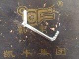 Toebehoren van de Steiger van het Frame van de Speld van de knevel de Elektro Gegalvaniseerde