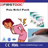 Remendo de adesivo medicado transdermal para gesso de alívio de dor Capsicum