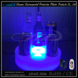 Support promotionnel de bouteille à bière avec l'éclairage de DEL