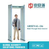 Warnungs-Zonen LCD-Bildschirm-Metalldetektor des Torbogen-Metalldetektor-18 für Finanzierung