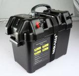 Neue elektrische mit der Schleppangel fischene Bewegungsenergien-Mitte-Außenbordbatterie tragen Kasten für Boot