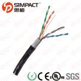 Cable al aire libre puro del cobre UTP Cat5e