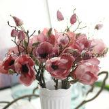 装飾(SW04803)のためのレトロのマグノリアの人工花