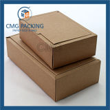 Brown Kraft Pape Bolsa y caja de papel (DM-GPBB-070)