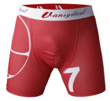 Addestramento Sportswear di Shorts Summer Running Gym di compressione per Men (AKNK-1006)