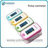 Neuf : Oxymètre de pouls de bout du doigt : SpO2, P.R., pi