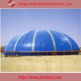 Armazenamentos da estrutura da junção de parafuso da construção de aço do frame do espaço