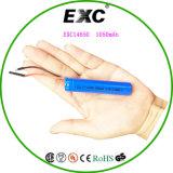 Bateria 3.89wh do Li-íon da bateria de lítio Exc14650 1050mAh