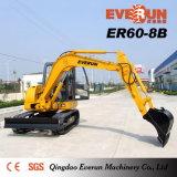 Everun 상표 6 톤 크롤러 굴착기 Er60-8b