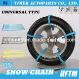 TPU + as correntes de pneu de aço do prego vendem por atacado correntes de neve
