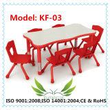 Tabela do infantário da placa da melamina com cadeira (KF-03)