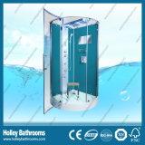Cor azul de luxe quarto de chuveiro computarizado com barra de toalha e assento (SR217G)