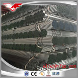 Fabbrica galvanizzata dei tubi d'acciaio della costruzione del TUFFO caldo ERW di Tianjin ASTM A53