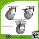 Piccola rotella termoplastica della rotella girevole della mobilia