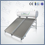 calefator de água quente solar exercido pressão sobre compato da tubulação de calor 120L