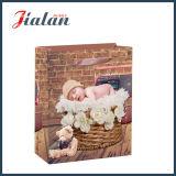 Лоснистый прокатанный мешок подарка покупкы младенца спать бумаги искусствоа бумажный
