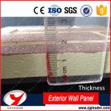 Waterlight Wormhole-Streifen-Muster-Außenwand-dekorative Panels
