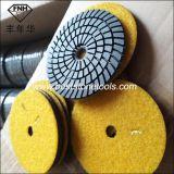 Wd-10 다이아몬드 3 단계 젖은 닦는 패드 (100X3.5mm)