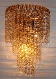 Grande lâmpada de parede decorativa com o cristal para o interior Using