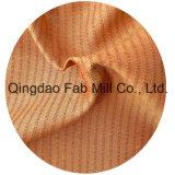Tessuto del Canapa-Seta-Cotone tinto filato (QF13-0168)