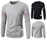 T-shirt d'hommes estampé par chemise ronde la plus neuve de collet la longue (A410)