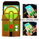 Pokemon vai acessórios do telefone de pilha da caixa do silicone do visor para o iPhone 7 7plus S6 S7edge S8 (XSPC-001)