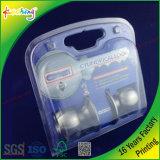 Copertura superiore variopinta e personalizzata con l'inserto della scheda/contenitore su ordinazione di bolla di stampa