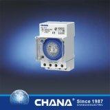 1nc/1no het Relais van de Tijdopnemer 250VAC van het Spoor Cahc15A van DIN 12A