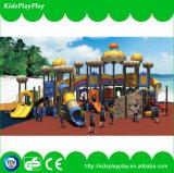 Apparatuur van de Speelplaats van de Jonge geitjes van de Leverancier van China de Plastic Openlucht (KP1512036)