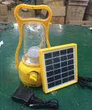 Lâmpada de acampamento recarregável solar portátil da lanterna do diodo emissor de luz do baixo preço