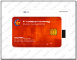 Cartão de microplaqueta Sle4442/4428/5542/5528 plástico do PVC