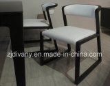 Couro branco moderno novo que janta a cadeira (C-56)