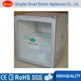 Refrigerador do refrigerador da porta de vidro da parte superior contrária do refrigerador da bebida da energia mini