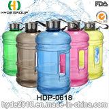 Нов конструированная бутылка несвязанной вода 2.2L большая BPA, бутылка воды PETG пластичная (HDP-0618)