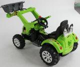 Conduite électrique de gosses sur le véhicule d'ingénierie