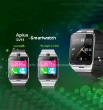 Ios와 인조 인간을%s NFC 사진기 손목 시계 SIM 카드 Smartwatch를 가진 Bluetooth 지능적인 시계 Gv18