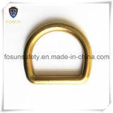 """Anelli a """"D"""" del metallo degli accessori del cavo di sicurezza (H110D)"""