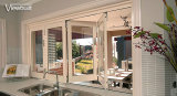 Doppeltes glasig-glänzendes Glas-Belüftung-Flügelfenster-Fenster für Raum