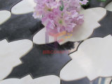 Wolken-Muster-bildete Wasserstrahlausschnitt-Marmor Mosaik (CFW45)