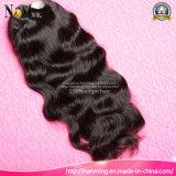 Teil-Perücke-Art-Spitze-Vorderseite-Menschenhaar-Perücke-brasilianische Jungfrau-Haar-Perücke 130% der Dichte-U