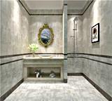 Деревенская плитка ванной комнаты настила камня цемента плитки Sn6202