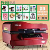 machine de la sublimation 3D, machine de presse de la chaleur de vide de sublimation, machine de vide de la sublimation 3D