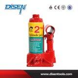CE 2ton 6.5kg Manual Hydraulische Vloer Jack met Plastic Doos
