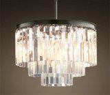 Iluminación interior decorativa de la lámpara pendiente de la manera de Phine con el cristal