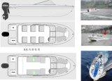 barco do esporte de 20ft Fibergalss