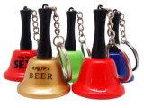 Main Bell en métal de trousseau de clés pour le promo comme cadeau